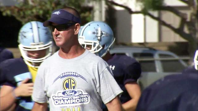 Corona del Mar's Scott Meyer is the ABC7 NFL High School Coach of the Week