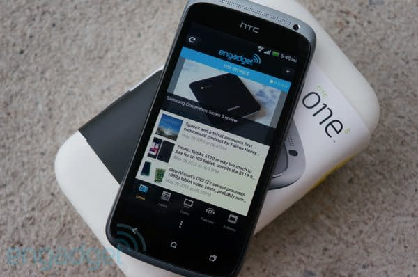 Engadget Giveaway: win an HTC One S, courtesy of Bell Canada