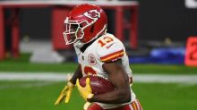 Chiefs put Byron Pringle on injured reserve