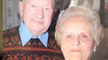 Elderly couple die side by side on same day after 77 years together
