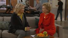 Hillary Clinton's comedic chops steal the show on 'Murphy Brown' premiere
