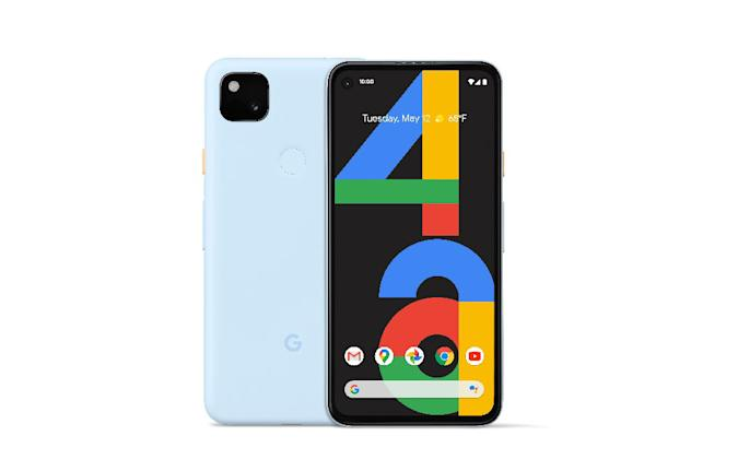 Google's Pixel 4a now comes in Barely Blue.