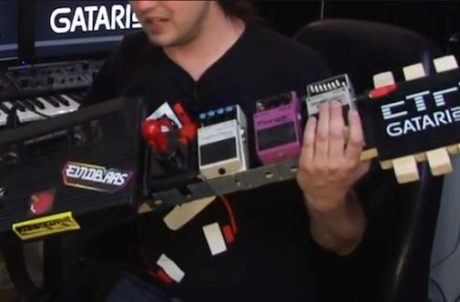 cTrix forges Atari 2600 and guitar together, mesmerizes nerds (video)