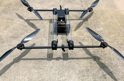 Hydrogen-powered drone will fly for hours at a time