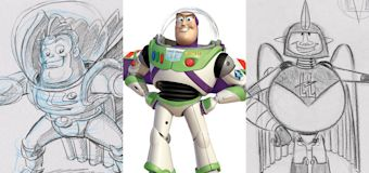Unseen Buzz Lightyear sketches revealed