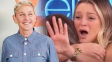 Ellen DeGeneres' touching gesture for engaged lesbian couple goes viral