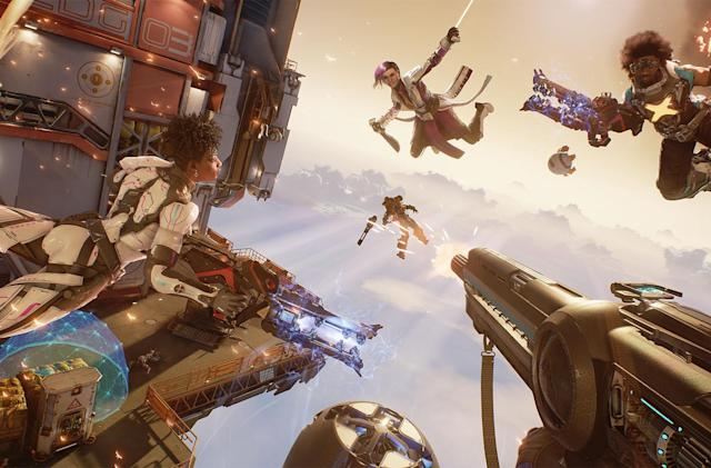 Snipers, tanks and turrets don't exist in 'Lawbreakers'