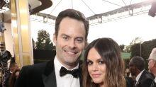Bill Hader And Rachel Bilson Make Romance Official At Golden Globes