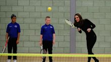 Anything you can do, Kate Middleton can do in heels