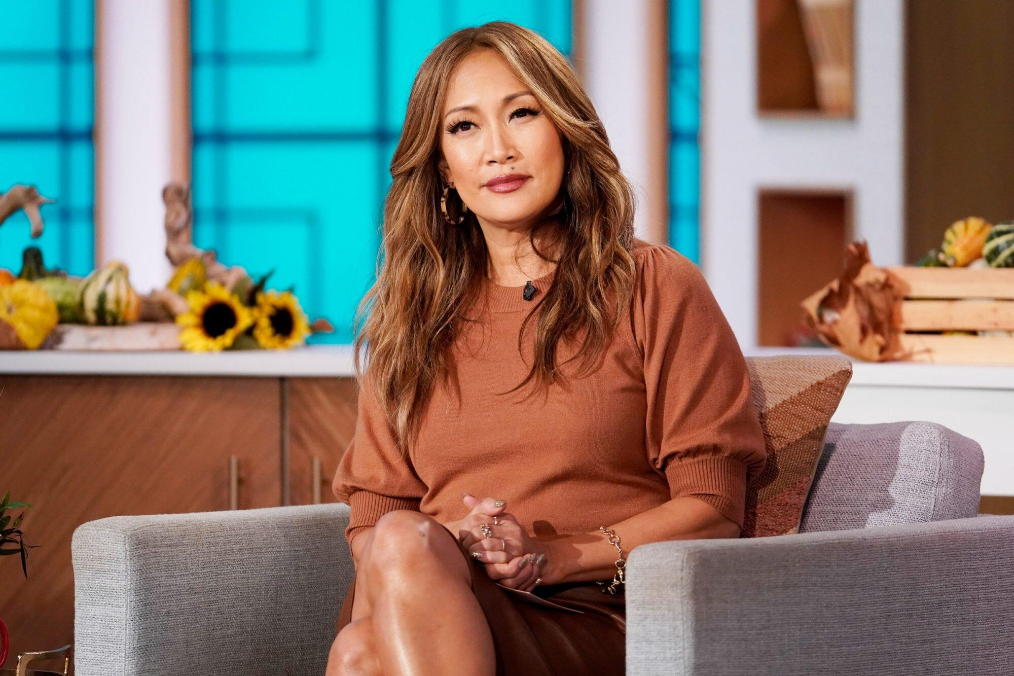 Carrie Ann Inaba Announces Leave of Absence from The Talk ...