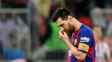 La frustración de Leo Messi