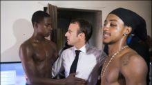 Junger Mann nach Oben-ohne-Foto mit Macron zu Haft verurteilt