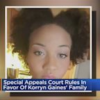 Special Appeals Court Rules In Favor Of Korryn Gaines' Family