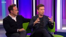 Declan Donnelly describes the 'incredibly difficult time' following Ant McPartlin's TV departure