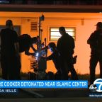 Bomb squad detonates pressure cooker found near Islamic Center of Northridge