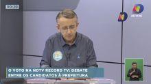 Prefeito passa mal e desmaia ao vivo em debate na TV