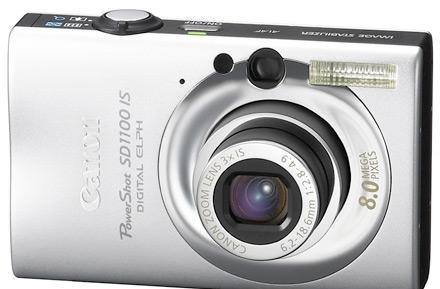 Canon debuts PowerShot SD1100 Digital ELPH fashioncam