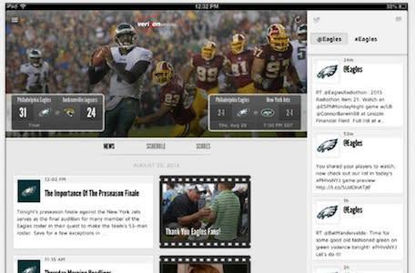 Sports fans with iPads score with in-stadium WiFi