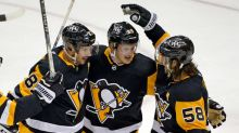 Guentzel's 100th career goal lifts Penguins past Rangers 3-2