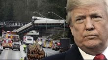 Trump: Train crash shows need for infrastructure fix. Details to come.