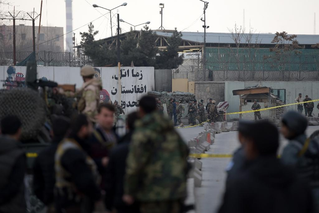 The attack on the military hospital in Kabul comes as the Taliban ramp up attacks even before the start of their annual spring offensive (AFP Photo/Shah Marai)