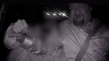 Drunk Uber passenger caught on dashcam video trying to grab steering wheel from driver