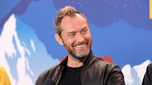 Jude Law confirms he's welcomed his sixth child