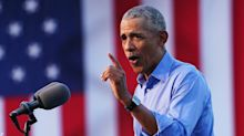 'It just won't be so exhausting': Obama debuts his closing argument for Biden