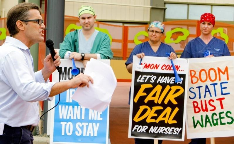 Nurses make new pay claims