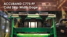 KELK Introduces New ACCUBAND Strip Width Gage for Cold Rolling Steel Mills and Processing Lines