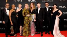 Canadian TV comedy series 'Schitt's Creek' wins first Emmy Award