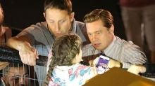 Brad Pitt Helps Rescue Young Fan on Set of 'Allied'