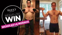 After Nicholas La Monaco lost 151 pounds, 'my glasses, shoes and wedding band no longer fit'