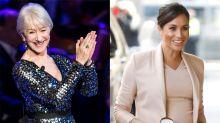 Helen Mirren praises Meghan Markle for 'admirable' handling of royal fame