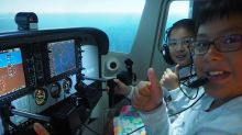 Young aspiring pilots hope for dream to take off at flight school in Changi