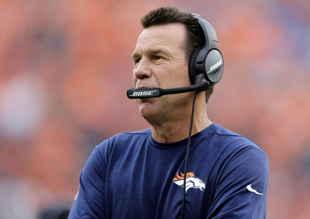 Broncos coach Gary Kubiak is expected to return to work on Monday (AP)