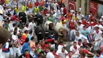 Two gored on fourth day of Pamplona's bull run