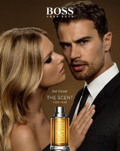 Anna Ewers And Theo James Star In Sensual Boss The Scent Campaign