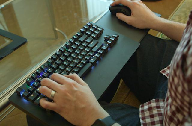 Razer's Turret for Xbox One brings the keyboard to the couch