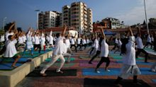 Telling pictures: Yoga enthusiasts around the world observe International Yoga Day 2019