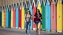 UK has its hottest March day for 53 years as temperature tops 24C