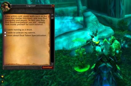 WoW Patch 3.1 PTR Druid glyphs and undocumented changes