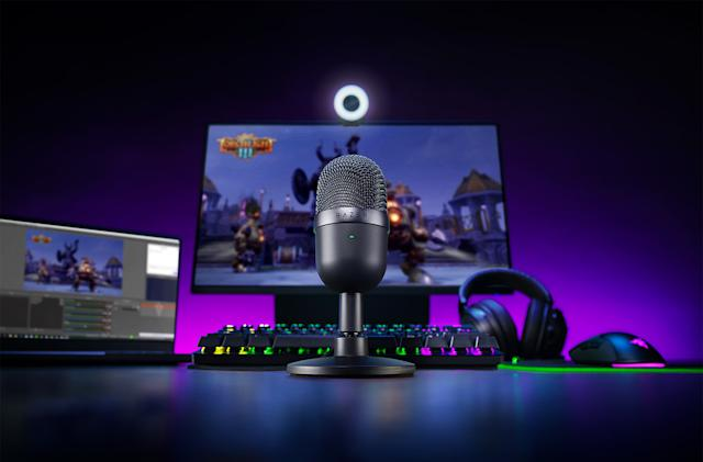 Razer's $50 Seiren Mini microphone is ready for aspiring streamers