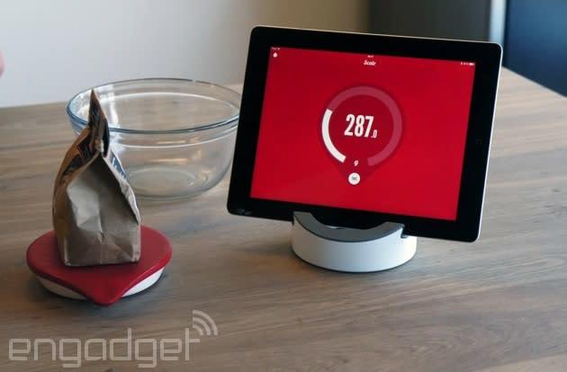 Drop's internet-savvy kitchen scale is now available