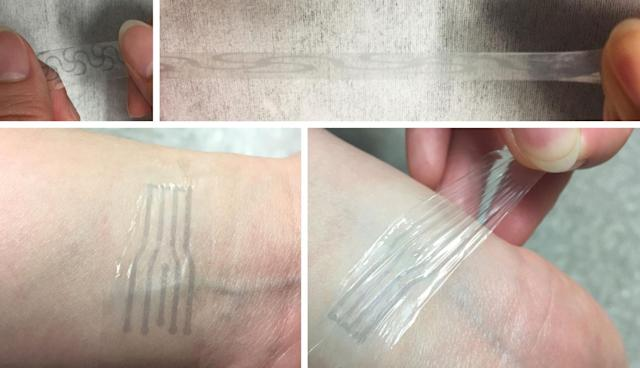 Scientists make stretchy electronics using a soup ingredient