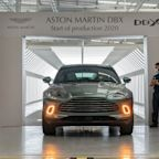 Aston Martin DBX SUV officially enters production
