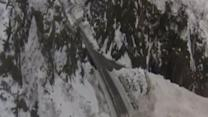 Raw: Avalanches Cut Off Only Road to Alaska City