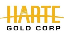 Harte Gold Obtains Deferral of Senior Credit Facility and Hedge Payments and Waiver of Financial Covenants