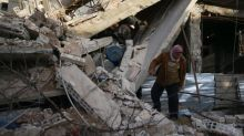 GRAPHIC WARNING: Syrian forces continue to bombard rebel-held Ghouta province