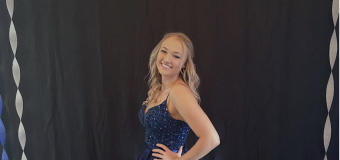 Self-isolated teen throws her own prom at home